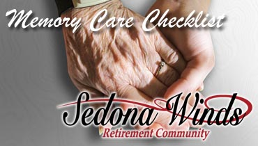 Memory Care Checklist - Sedona Winds Retirement Community