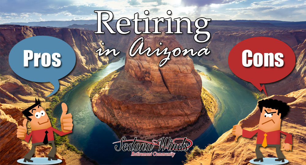 Retiring in Arizona Pros and Cons